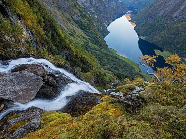 مضيق- غربي النرويج