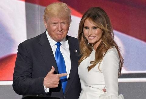 دونالد و ميلانيا ترامب