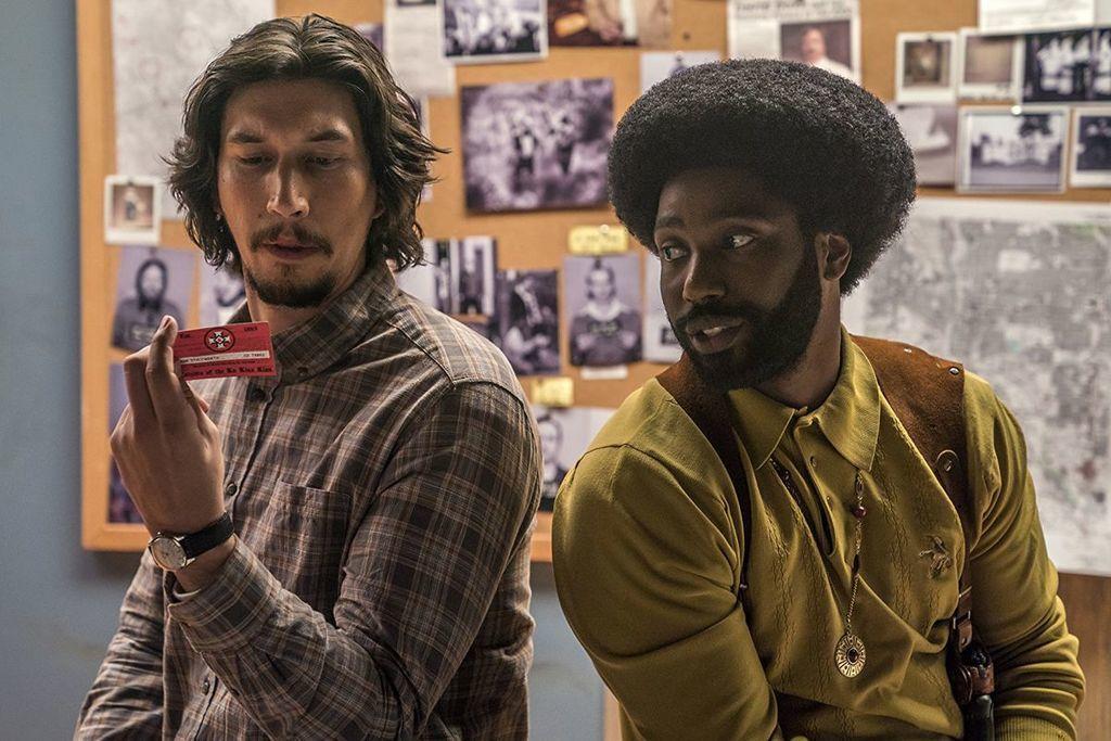 شاهد تريلر ومراجعة فيلم BlacKkKlansman مراجعة وتريلر الفيلم الأمريكي رجل عصابة الـ'كي كي كي' الأسود عصابة الكو كلاكس كلان مهرجان كان السينمائي